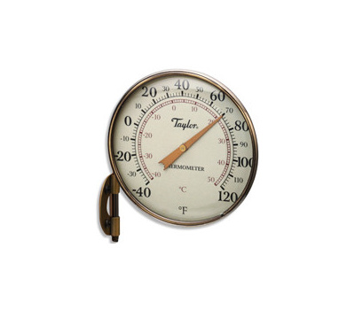 Taylor 481BZN Thermometer Dial 4-1/4in Brz