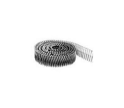 Stanley Bostitch C6P99DG 2 Inch By 0.099 Galvanized Smooth Shank 15 Degree Coil Framing Nails (Pack Of 3600)