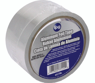 Intertape Polymer 9200 Aluminum Foil Tape 2 Inch By 10 Yards
