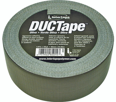 Intertape Polymer 20C-OD2 Duct Tape Olive Drab 1.88 Inch By 60 Yards