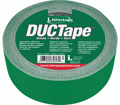 Intertape Polymer 20C-GR2 Duct Tape Green 1 7/8 Inch By 60 Yards