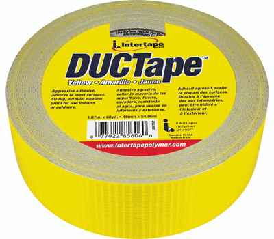 Intertape Polymer 20C-Y2 Duct Tape Yellow 1 7/8 Inch By 60 Yards