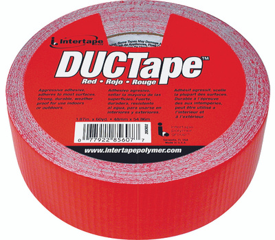 Intertape Polymer 20C-R2 1.87 Inch By 60 Yard Red Duct Tape