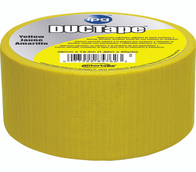 Intertape Polymer 6720YEL Ductape Yellow Duct Tape 1.88 Inch By 20 Yards