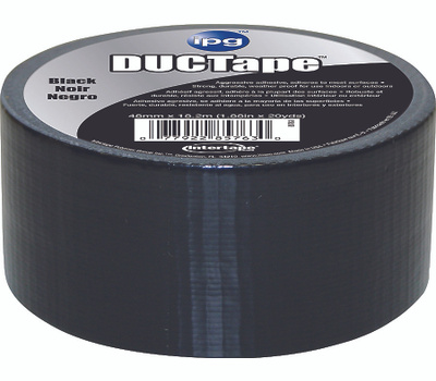 Intertape Polymer 6720BKT Ductape Black Duct Tape 1.88 Inch By 20 Yards