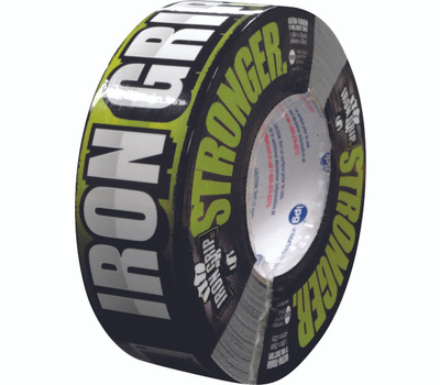Intertape Polymer IG235 Iron Grip Heavy Duty Duct Tape 1.88 Inch By 35 Yards Black