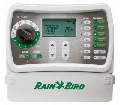 Rainbird SST600IN Timer 6-Zone Indoor Simple Set