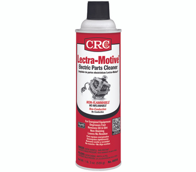CRC 05018 Lectra Motive Electric Parts Cleaner 19 Oz Aerosol Can Clear