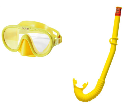 Intex Recreation 55642E Mask/Snorkel Swim Set Age 3-10