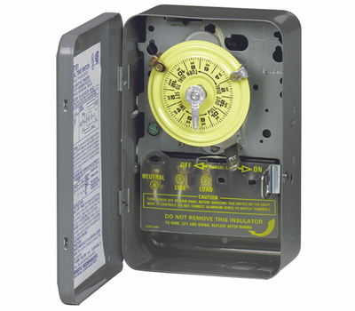 Intermatic T101 Switch Timer 1Pole 2Hp 40A120v