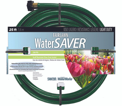 Colorite Swan SNFA12025 Fairlawn 1/2 Inch By 25 Foot Water Saver Hose