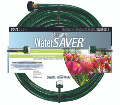 Colorite Swan SNFA12050 Fairlawn 1/2 Inch By 50 Foot Water Saver Hose