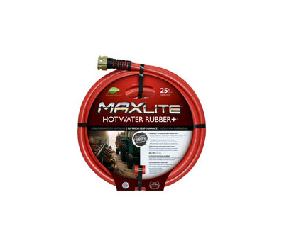 Colorite Swan SGHW58025 Hose Hot Water Rubber 5/8x25ft
