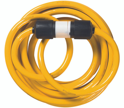 Coleman Cable 1493 Yellow Jacket 10/4 Generator Cord 25 Foot 30 Amp