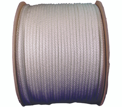 Lehigh Group 10128 8 By 500 Foot Solid Braided Nylon Rope