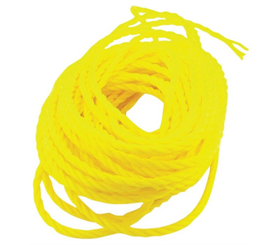 Wellington Cordage 16360 1/4 Inch By 100 Foot Twisted Poly Pro Economy Tie Down Rope