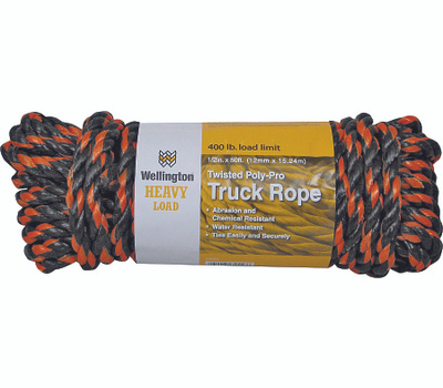 Lehigh Group 34556 1/2 Inch Truck Rope 50 Foot