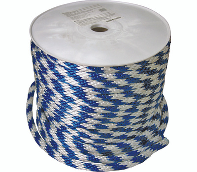 Lehigh Group 46406 Derby Blue/White 5/8 Inch By 200 Foot Rope