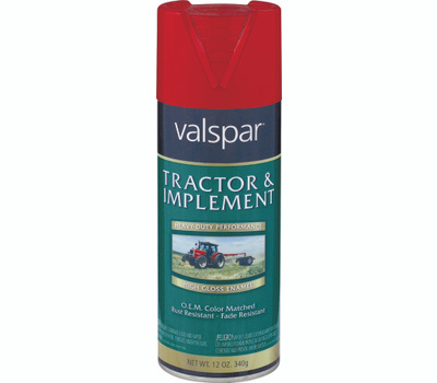 Valspar 5339-20 Tractor & Implement Ford Red Farm Spray Paint