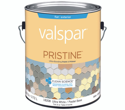 Valspar 18208 Paint Ext Flat Ultrawht Bs Gal