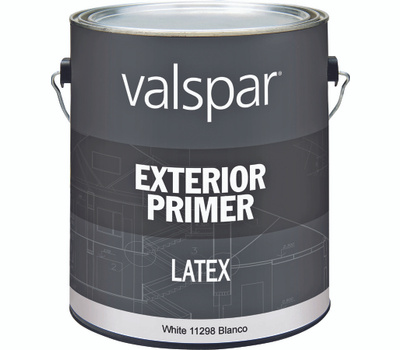 Valspar 11298 Professional Primer Exterior Latex White Pro Gallon