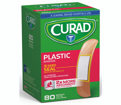 Medline CUR02278RB Curad Bandage Plastic 3/4In