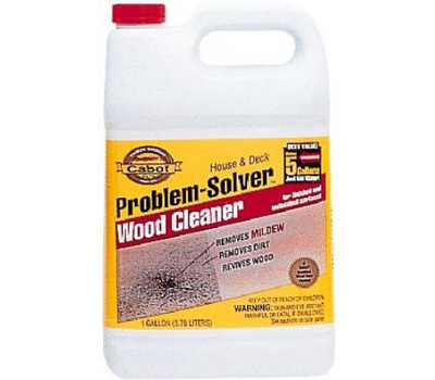 Cabot 8002 Gallon Problem Solver Wood Cleaner 080351180026 1