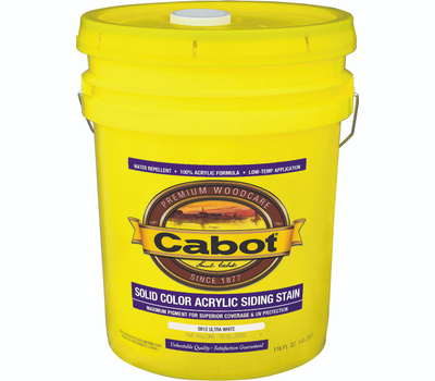Cabot Valspar 0812 5 Gallon Pro Virginia Tint Acrylic Ultra White
