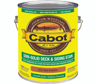 Cabot 17417 Exterior Oil Stain