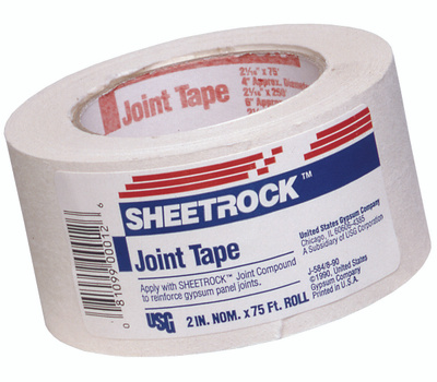 US Gypsum 380041 Sheetrock 75 Foot Drywall Joint Tape
