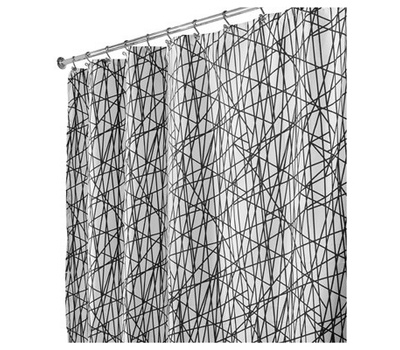 InterDesign 36920 Abstract SHWR Curtain