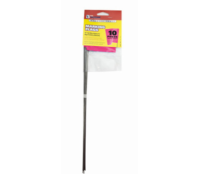 Hanson 15066 Stake Flag Pink 15In 10 Pack