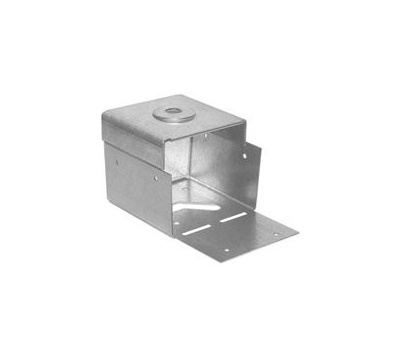 USP Structural PA66-TZDP 6 By 6 Inch Post Anchor