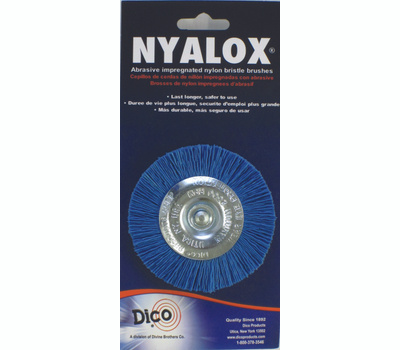 Dico 541-783-3 Nyalox 3 Inchblu Fine Mountd Wheel