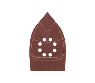 Ali 3732 Gator 3 1/2 By 5 Inch Mouse Sander Detail Sanding Sheets Hook And Loop 100 Grit Medium Aluminum Oxide 5 Pack