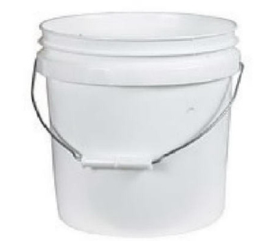 Leaktite 1GL Gallon White Plastic Pail