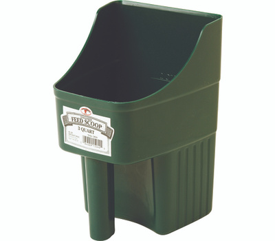 Miller 150422 Little Giant 3 Qt Enclosed Feed Scoop Green