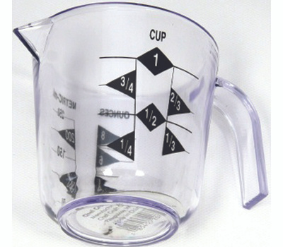 Chef Craft 20789 Measure Cup 1 Cup