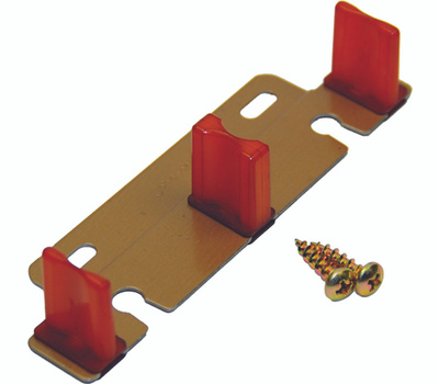 LE Johnson 2135PPK1 Bypass 3/4 Or 1-3/8 Inch Sliding Door Guide