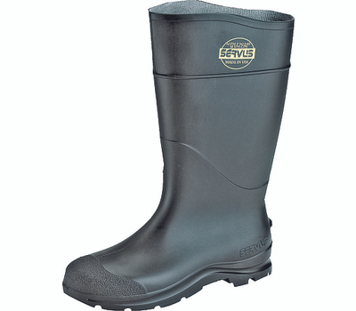 Honeywell Safety 18822-7 Servus Boot Pvc Pln Toe 16In Black 7