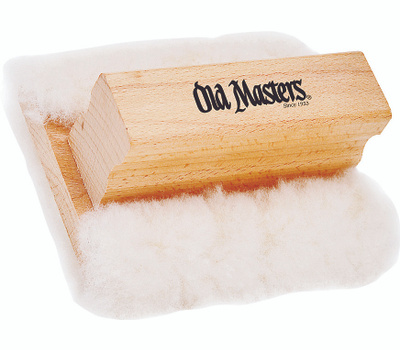 Old Masters 30500 3-1/2 By 5 Inch Lambswool Stain Applicator Pad