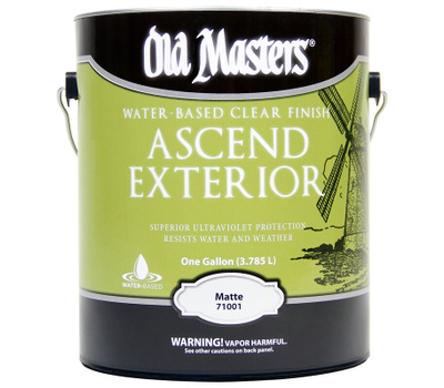 """Old Masters 71001 """"Ascend"""" Finish Wb Clr Satin Matte Gal"""