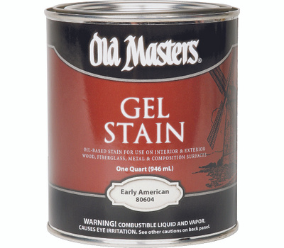 Old Masters 80604 Gel Stain Interior Exterior Early Colonial American Quart
