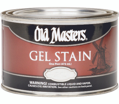 Old Masters 81708 Gel Stain Interior Exterior Classic Pecan Pint