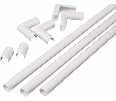 Wiremold C110 Cordmate White Cord Cover Kit