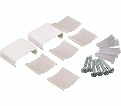 Wiremold NMW910 7 Piece Coupler And Er Accessory Pack