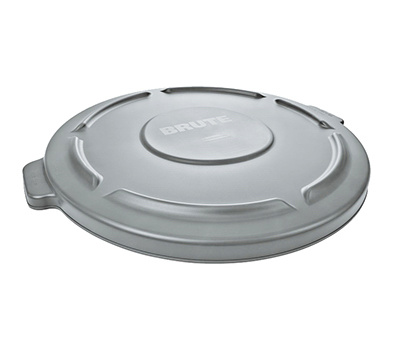 Rubbermaid Commercial FG263100GRAY Brute 22 1/4 By 1 3/8 Gray Plastic Refuse Lid