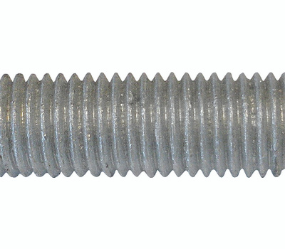 Brighton Best 770051-BR 1/2-13 Thread By 3 Foot Hot Dipped Galvanized All Threaded Rod