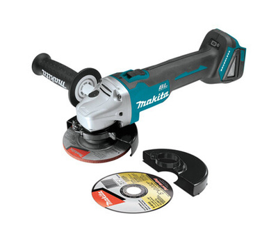 Makita XAG04Z Grinder Ct-Of/Ang 18V 5X4-1/2In