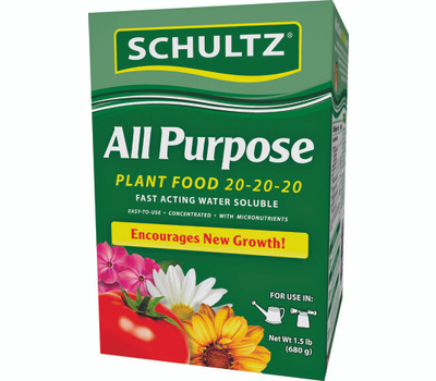 Schultz SPF70680 Fertilizer All Purpose 1.5 Pound